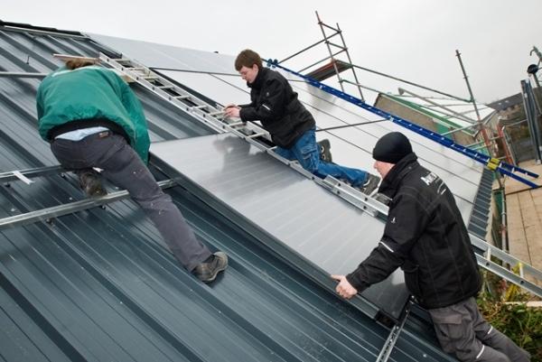 Zonnepanelen op uw dak is een duurzame manier van energie opwekken